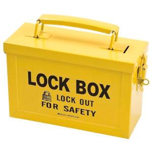 REF:LT00003-1 Caja de Lockout de Color Amarillo