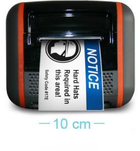Toro - Anxho máximo para la impresión de etiquetas