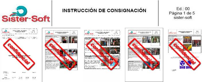 Instrucciones de consignación